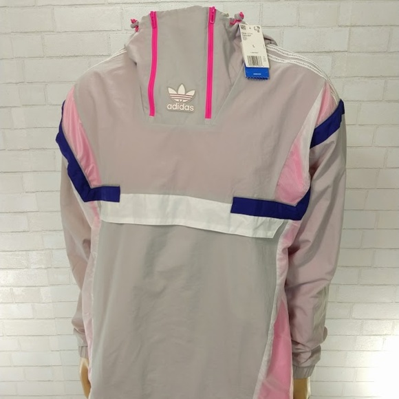 Adidas BR8 Pullover Windbreaker NWT Large Mens. Listing Price   75 748756785